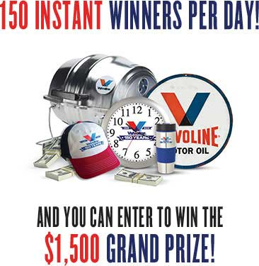 Valvoline-150-Giveaway-Instant-Win-Game