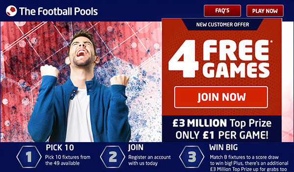 Free Football Pools UK – Best Freebies Today