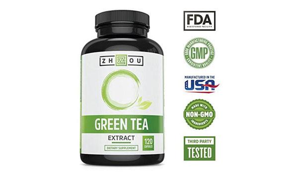 green tea caffeine weight loss pills