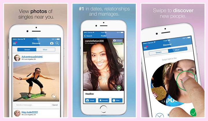 Social dating apps 2017