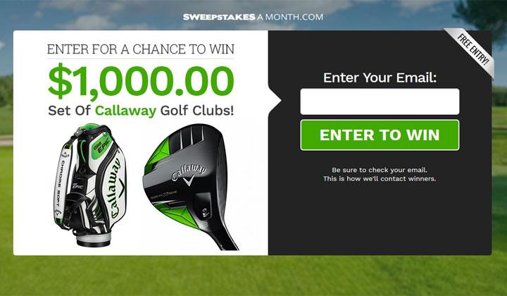 Callaway golf clubs coupons
